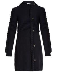 Multi knit wool blend cardigan medium 781756