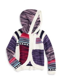 Design History Patchwork Knit Cardigan