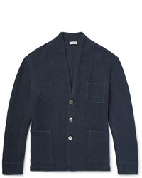 Waffle knit cotton cardigan medium 1343158
