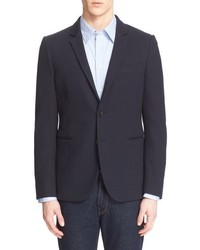 Paul Smith Ps Extra Trim Knit Cotton Blazer