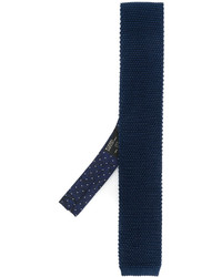 Etro Knitted Skinny Tie