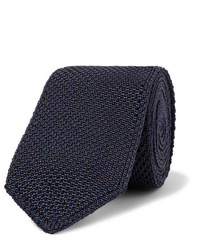 Brioni 65cm Knitted Silk Tie