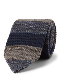 Missoni 6cm Striped Knitted Wool And Silk Blend Tie