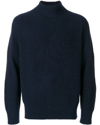 Sacai Fine Knit Roll Neck Sweater