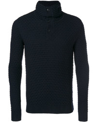 Paolo Pecora Knitted Roll Neck Sweater