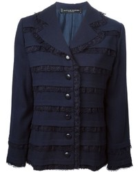 Jean Louis Scherrer Vintage Lace Panel Jacket