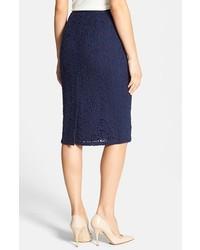 Classiques Entier Camellia Lace Pencil Skirt