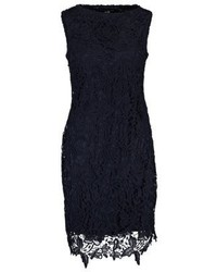 Cocktail dress party dress navy medium 3841567