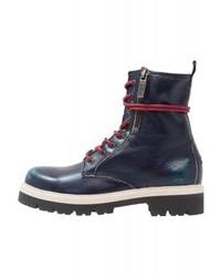 Tommy Hilfiger Platform Boots Dark Blue