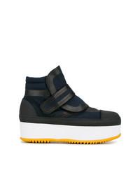 Marni Blue 50 Flatform Boots