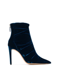 Alexandre Birman Gathered Ankle Booties