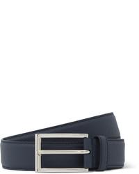 Prada 3cm Cross Grain Leather Belt