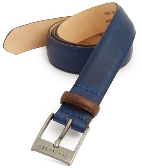 5128d86630f81 ... Ted Baker London Leather Belt ...
