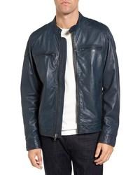Leather moto jacket medium 844186