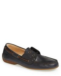 Frye Lewis Leather Boat Shoe