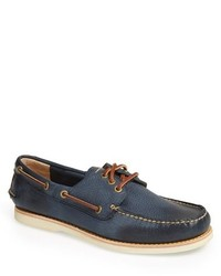 Frye Sully Leather Boat Shoe