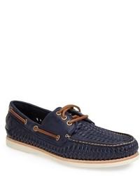 Frye Sully Woven Boat Shoe