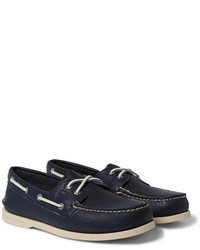 Top sider authentic original leather boat shoes medium 186889