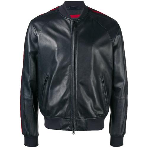1d1637364 £507, Emporio Armani Side Stripe Bomber Jacket