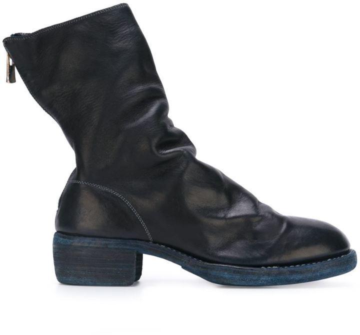 Boots Uk Rear £1 Zip Lookastic 002 Guidi ExqSPYfw