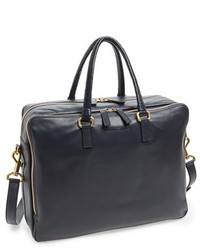 Salvatore Ferragamo Berlino Leather Briefcase