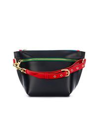 Sacai Trapezoid Clutch Bag