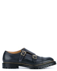 Kolor Leather Monkstrap Brogues