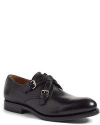 Aquatalia Vernon Double Monk Strap Shoe
