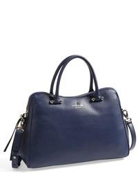 New york charles street audrey leather satchel medium 31951