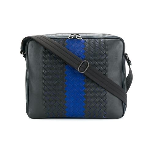 4ba80949841a ... Navy Leather Messenger Bags Bottega Veneta Tourmaline Intrecciato Nappa Messenger  Bag Unavailable ...