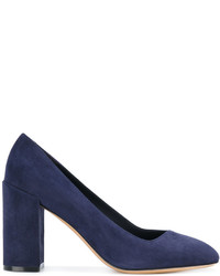 Salvatore Ferragamo Block Heel Pumps