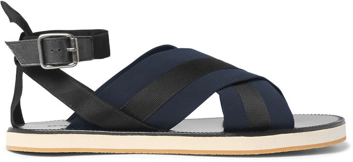 DRIES VAN NOTEN Leather Sandals e3neMXk