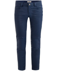 L'Agence French Leather Trousers