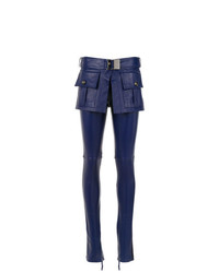 Andrea Bogosian Leather Skinny Trousers