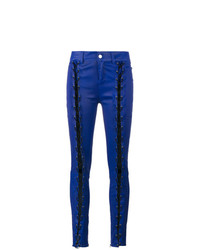 Filles a papa Skinny Lace Up Leather Trousers