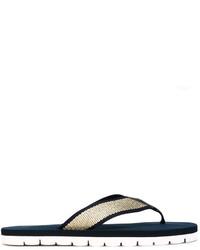 Tommy Hilfiger Metallic Flip Flops