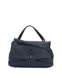 Zanellato Foldover Clasp Tote Bag