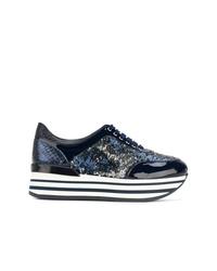 Baldinini Platform Lace Up Sneakers