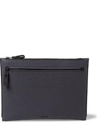 Cross grain leather pouch medium 608702