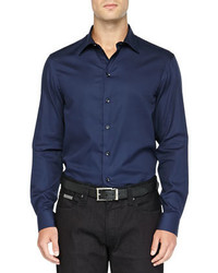 Navy long sleeve shirt original 359244