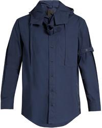Craig Green Belted Long Sleeved Cotton Poplin Shirt