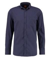 Hugo Boss Cattitude Slim Fit Shirt Dark Blue