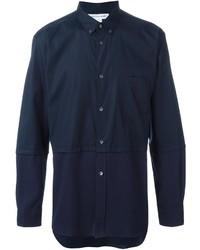 Comme des Garcons Comme Des Garons Shirt Panelled Button Down Shirt