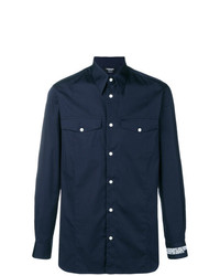 Calvin Klein 205W39nyc Embroidered Cuff Shirt