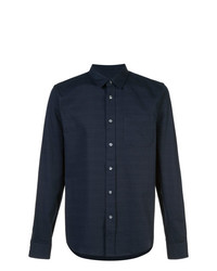 Odin Textured Slub Long Sleeve Shirt