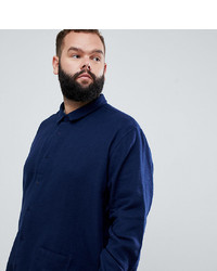 Jacamo Utility Pocket Shirt In Navy