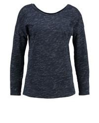Long sleeved top dark blue medium 3894020