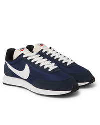 Nike Air Tailwind 79 Mesh Suede And Leather Sneakers