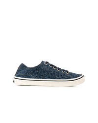 Tommy Hilfiger Melange Knitted Low Top Sneakers