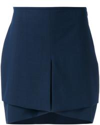 Navy mini skirt original 1459041